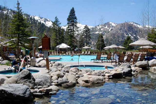 Squaw valley real estate lake tahoe real estate - High camp swimming pool squaw valley ...